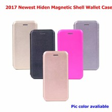 Flip PU Leather Cover Magnetic Protective Shell Wallet Cases for iphone 6
