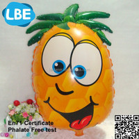 EN71 inflatable fruit custom shape helium balloons