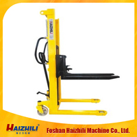 1T hand stacker,manual forklift ,pallet easy lift ,cheap price