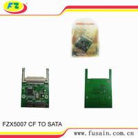 Compact Flash Type I/II CF To SATA Converter HDD Hard Disk Drive Card Adapter