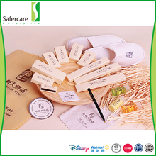 High quality eco-friendly OEM branded toiletries hotel amenities disposable