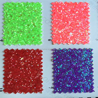 beautiful pu glitter leather fabric for making Dance shoes HX1128