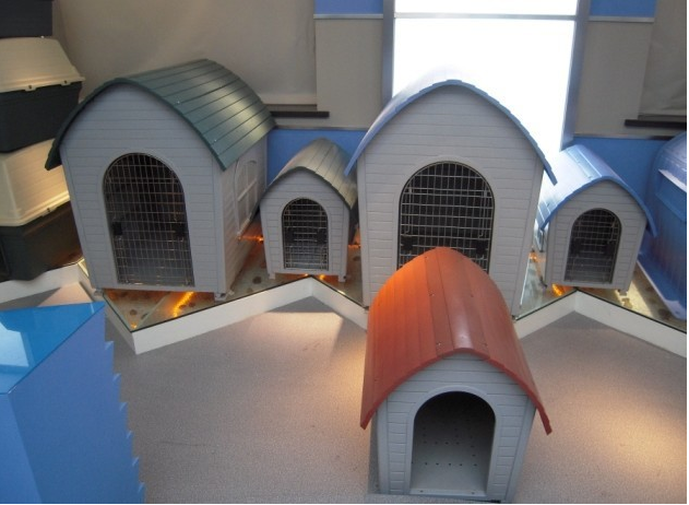 Custom High Quality large dog house unique dog house plastic pet kennels