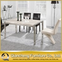 Cheap price living room furniture dining table design