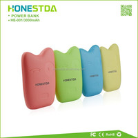 Hot Selling Lovely Smart Portable Charger Mobile Phone 3200mAh shenzhen power bank