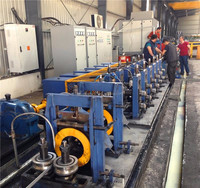 Full automatic erw pipe machine production line