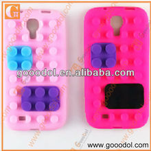 Silicone Building Blocks Cover for Samsung S4 i9500