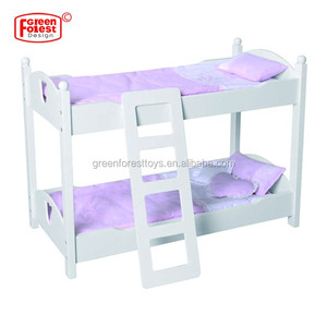 Mdf Wooden Doll Bunk Bed Wooden Doll Furniture Mdf Wooden Doll Bunk
