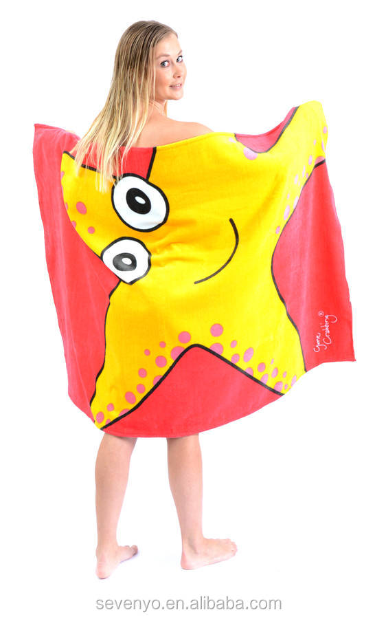 wholesale cheap beach towels with The Starfish BT-342 China Supplier