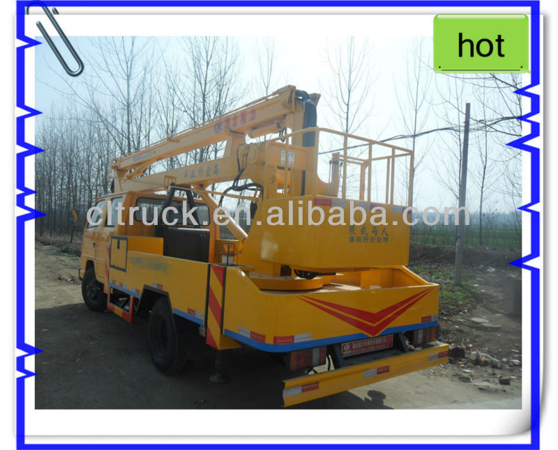 JMC High lifting platform truck for hot sale,high altitude equipment