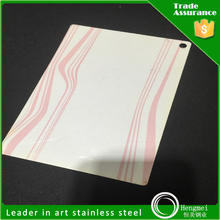 raw materials lamination 2b 430 cold rolled stainless steel sheet steel price list