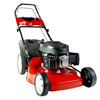 Gasoline Grass cutter lawn mower/6HP 4 in 1 seft-propelled Lawn Mower
