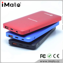 Metal 10000 mah QC 3.0 Output & Input 3 Hours Self Charge Time Mobile Power Bank Shenzhen