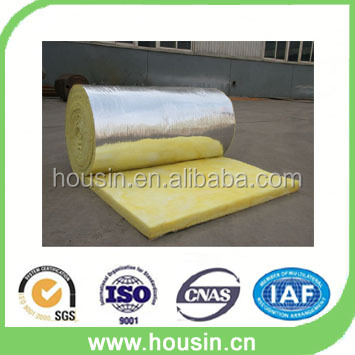 Aluminum Foil Faced Roofing Insulation Glasswool Blanket
