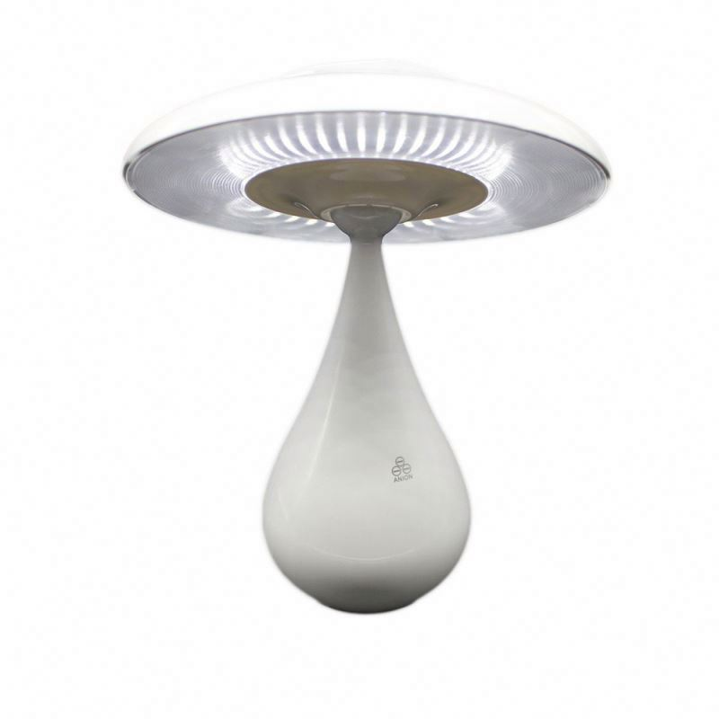 Air purification flashing mushroom lights with rechargeable battery