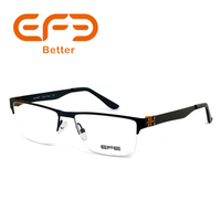 Fashion Metal Hinge With Plastic Part Optical Frames Glasses