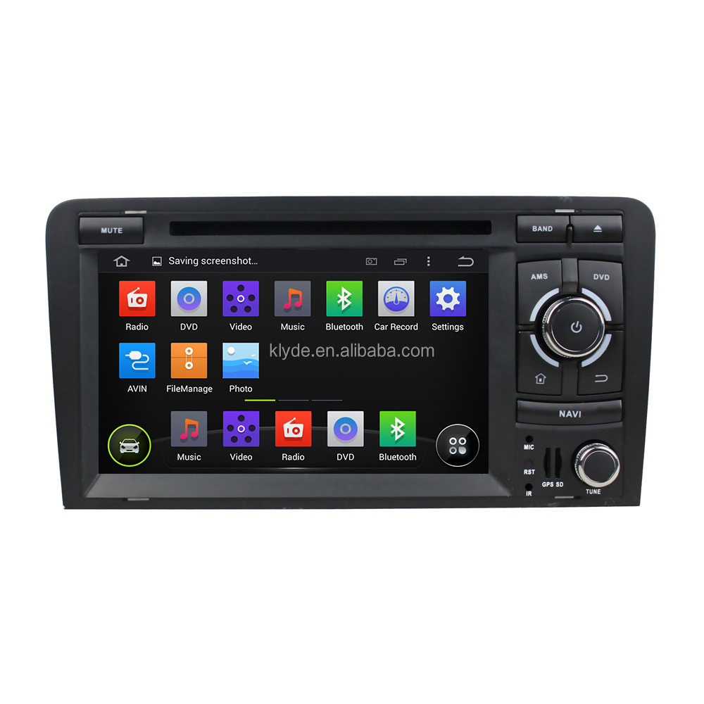 DVD gps navigation system car dvd player for Audi A3 2003-2013