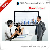 2013 New 84inch touch screen touch screen smart tv pc all in one (4 point touch)