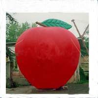 NB-1-AD212 HOT sale ! New Design giant inflatable apple
