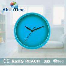 Hot led wall mounted clock round shapes for office decoration themes