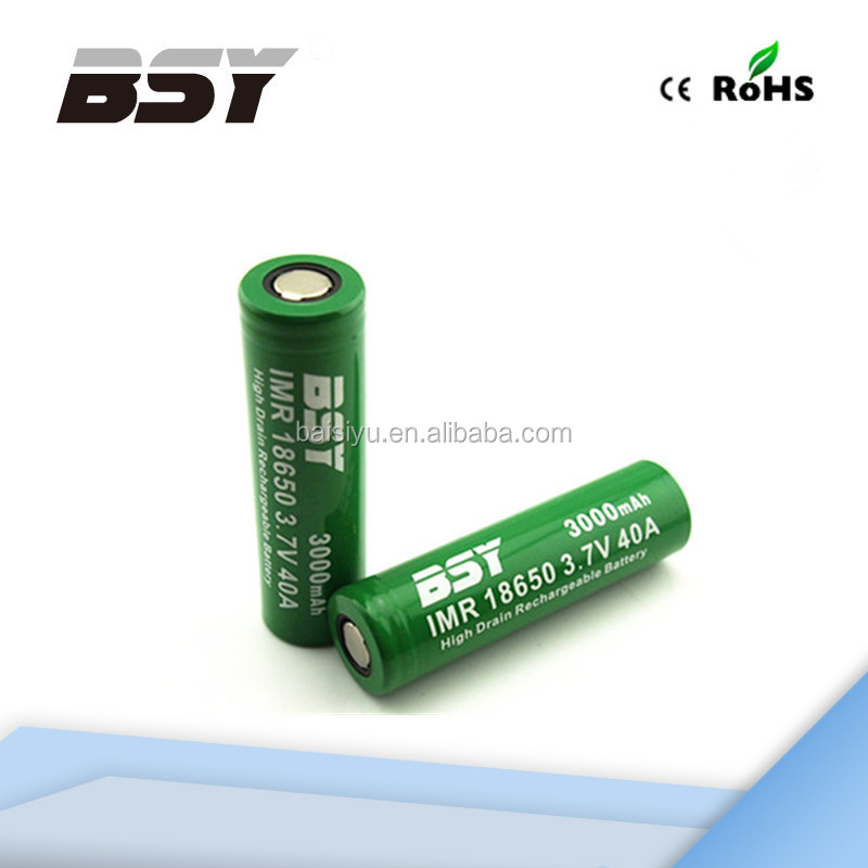 BSY 18650 3.7V 3000mAh rechargeable Lithium battery digital camera battery for nikon