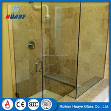 Alibaba China good cutting colored cheap bathtub shower glass
