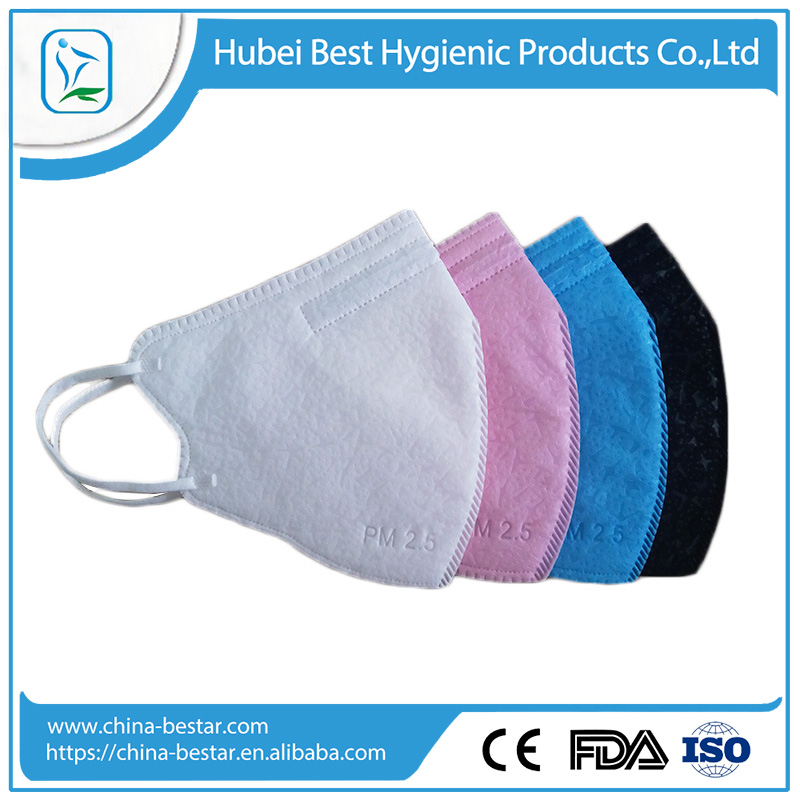Disposable wholesale beautiful dust mask for spring & summer