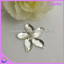 Special Shape Crystal Sew on Stones for wedding clothing