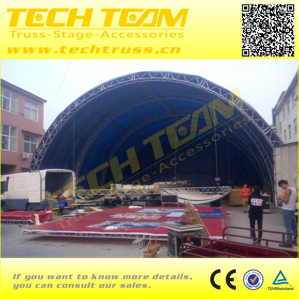 High Quality Arched Roof Truss