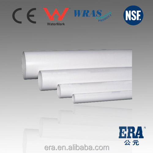 high pressure pipefor Water Supply White PVC Pipes