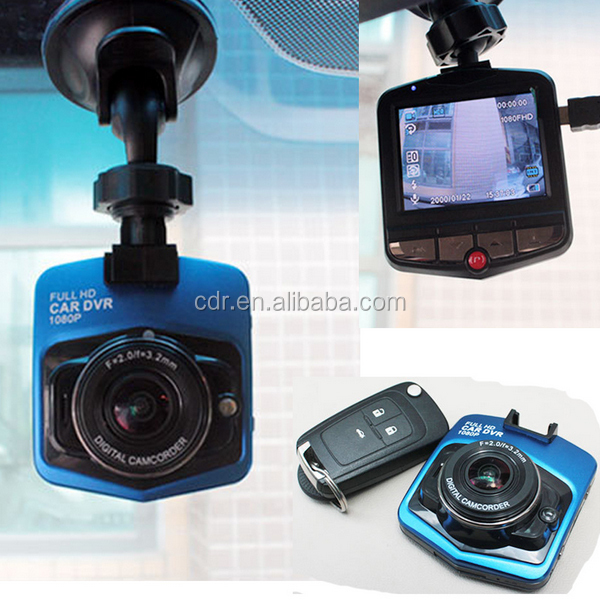 Trade Assurance Full HD 1080P NTK 96220 Metal Housing Motion Detection Mini Size 2.4inch Black Box Car Camera