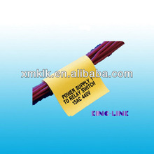 Thermal Transfer Printing Label for Electrical Cable