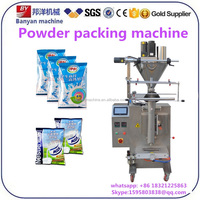 Automatic Corn starch curry bag washing powder weighting sealing packaging machine price