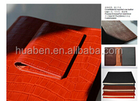 Luxury Top quality crocodile leather Memo Pad/notebook folder