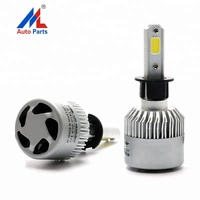 Customized led auto headlight E2 High power 72W 16000LM led car light fog light H3