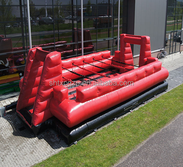 inflatable human foosball for sale
