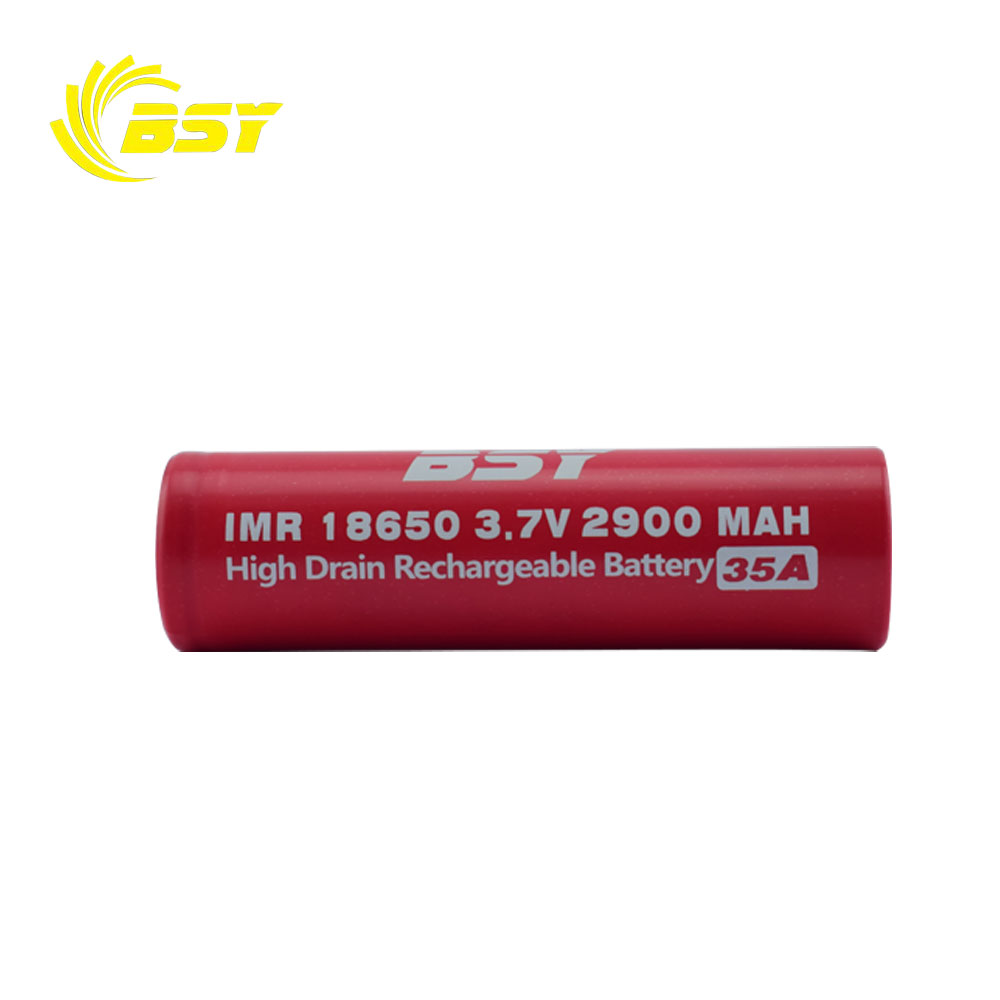 BSY Rechargeable li ion battery 18650 3.7v 2900mah 35A 18650 battery manufacturers
