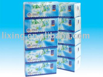 2plys super soft and white virgin wood pulp Facial Tissue soft pack