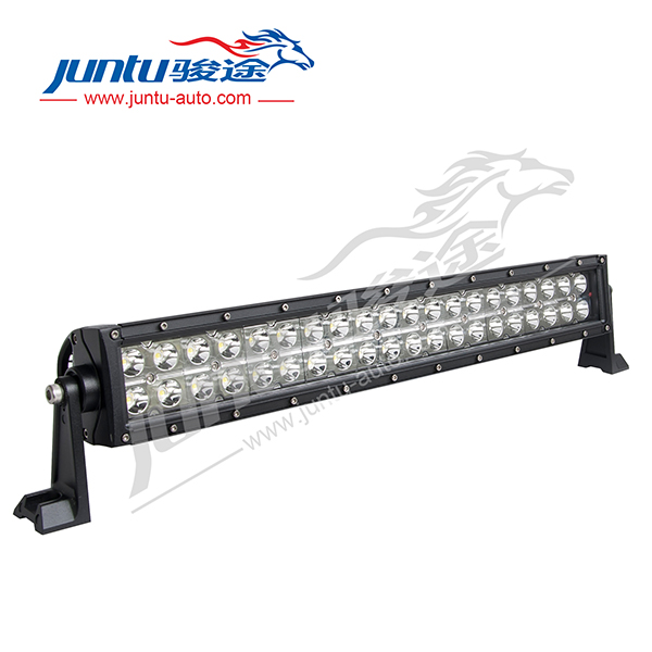 "120w 21.5"" 8400LM 10V-30V DC 3W/Diode Double Rows IP67 Waterproof 120w curved led light bars"