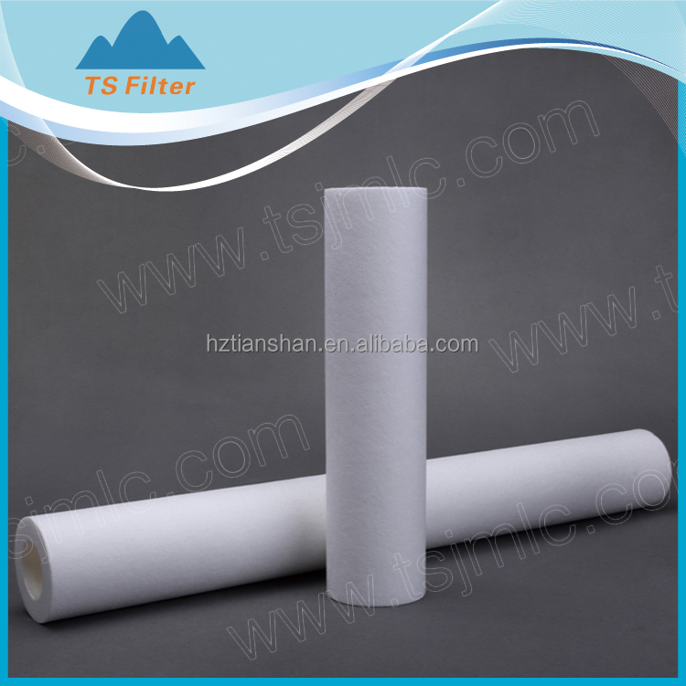 Chinese manufacturer best price Melt Blown PP filter cartridge/ filter candle for prefiltration in process water teratment ind