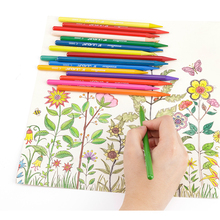High quality nature drawing color pencil set
