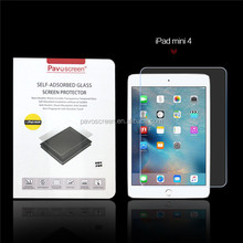 9h Whole transparency high clear privacy glass screen protector for iPad mini