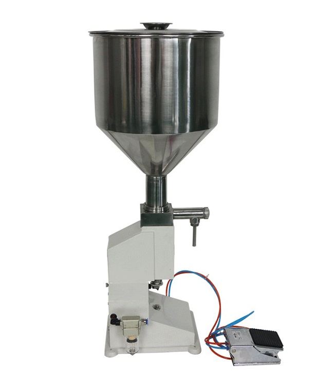 High precise Manual Cream filling machine, Cream Filler machine for cosmetic,condiment sauce (5-50ml) <strong>A02</strong>