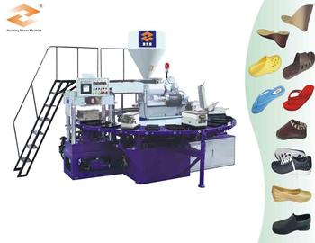 HM-188 rotary pvc injection shoe making Machine
