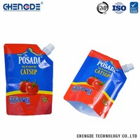 High Grade China Manufacturer Eco- Friendly stand up spout pouch