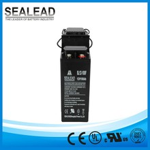 Advanced lead tin calcium alloy12v 100ah telephone switching system battery
