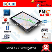 7 inch Touch Screen Car GPS Navigation System wince ce 6.0 core version