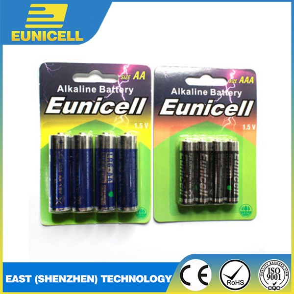 LR6 AA AAA LR03 Super Alkaline Dry Battery