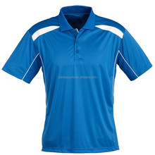 new design sublimated collar sport polo t shirt men