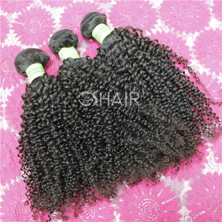 Chinese wholesale companies 5A level kinky curly hair extension